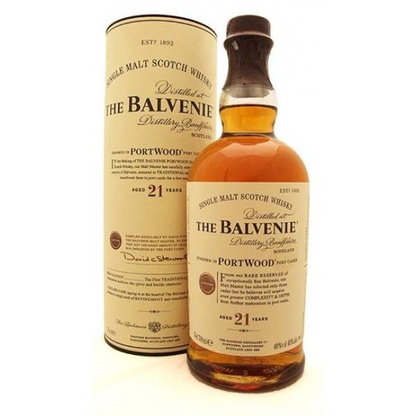 The Balvenie Portwood 21 Years Single Malt-600x600