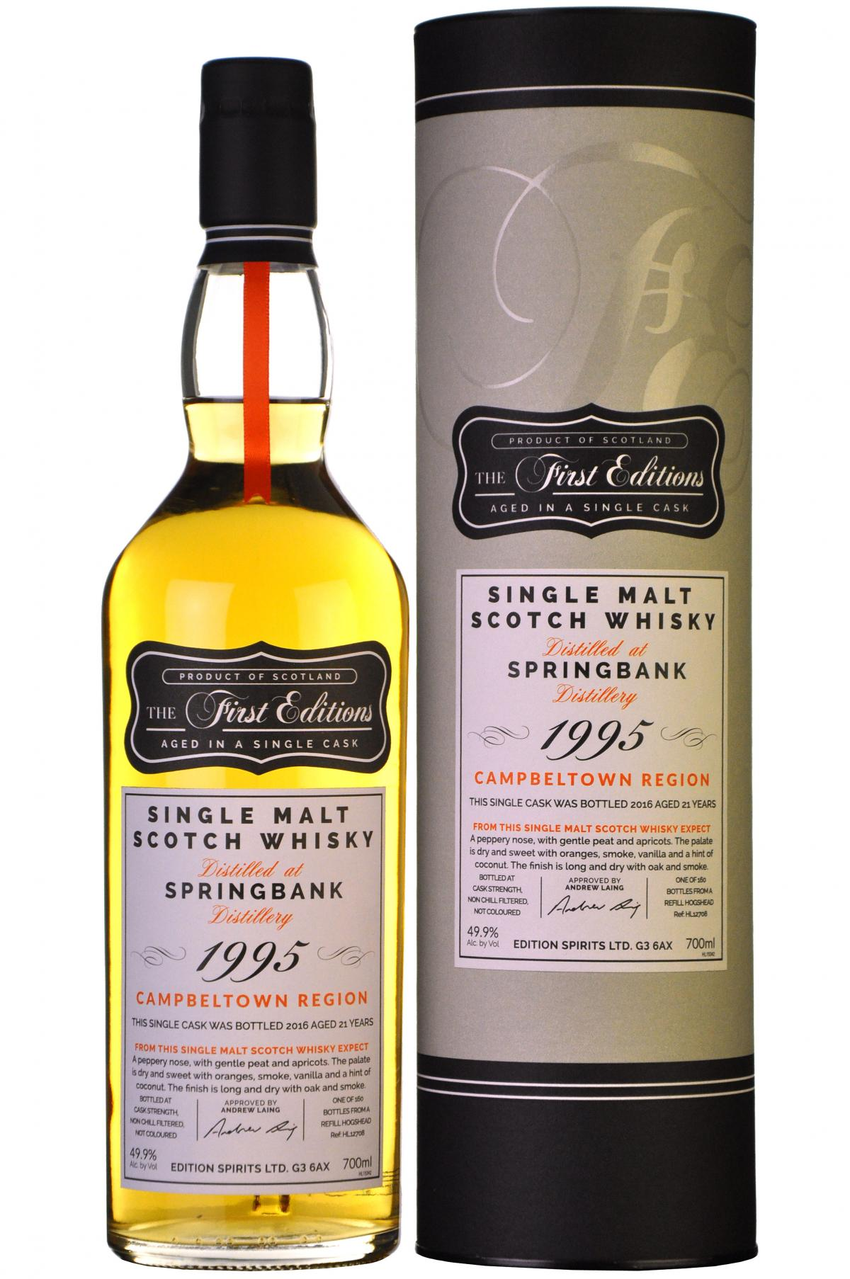 6187-8931springbank1995-201621yearoldthefirsteditions