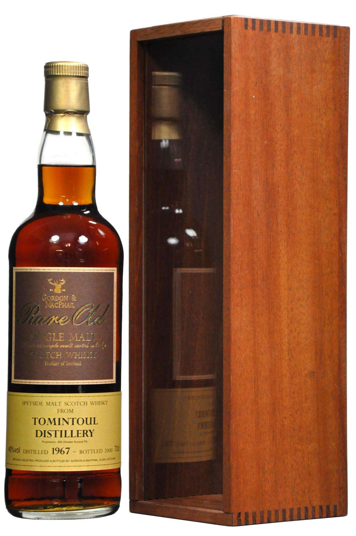 5466-7727tomintoul1967-2000rareold