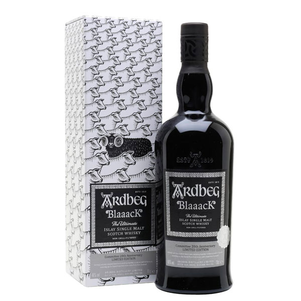 Ardbeg Blaaack packaging
