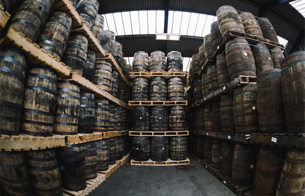 Great Northern Distillery warehouse